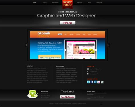 portfolio site templates website layouts archives page 5 of 6 graphicsfuel