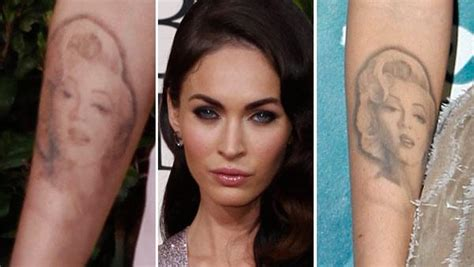 megan fox tattoo removal you be the judge megan fox opens up about removal