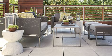 crate barrel outdoor furniture outdoor furniture sets crate and barrel