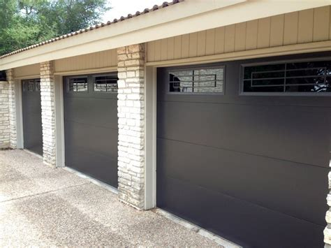 Metal Up And Garage Doors cowart door metal clad garage doors with windows modern garage by cowart door