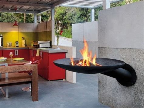bbq and fireplace sunfocus is outdoor fireplace and bbq grill in one
