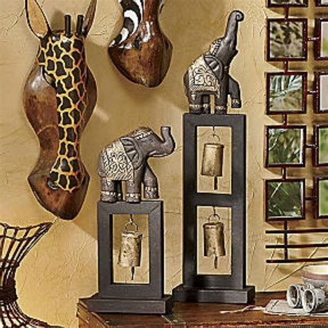 african home decorations elephant decor savannah themed home african inspired