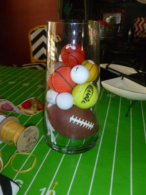sports themed decorations sports baby shower ideas baby shower show me