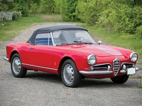 1962 Alfa Romeo by 1962 Alfa Romeo Giulietta Spider Pictures To Pin On