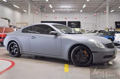 buy used infiniti g35 coupe buy used 2003 infiniti g35 coupe turbo 28k no