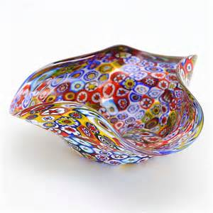murano glass vases murano millefiori decorative bowl