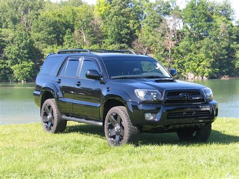 Toyota 4runner Blacked Out Out Toyota 4runner Motorcycle Review And Galleries