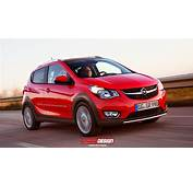 Opel Karl / Vauxhall Viva Rocks Rendered Rugged And