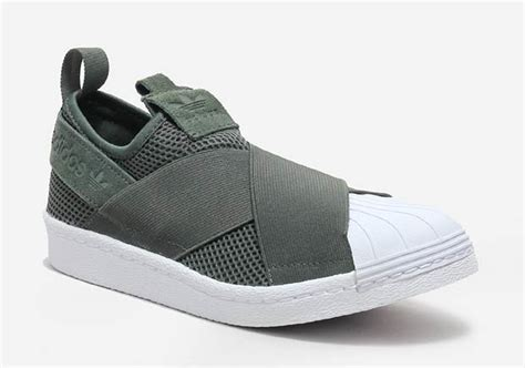 Sepat Adidas Slipon 7 new colorways of the adidas superstar slip on arrived kicksonfire