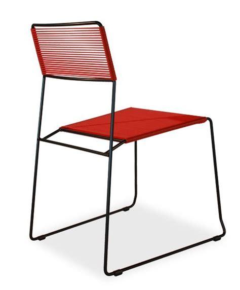 spaghetti stuhl stapelbarer stuhl mit kufengestell log spaghetti by area