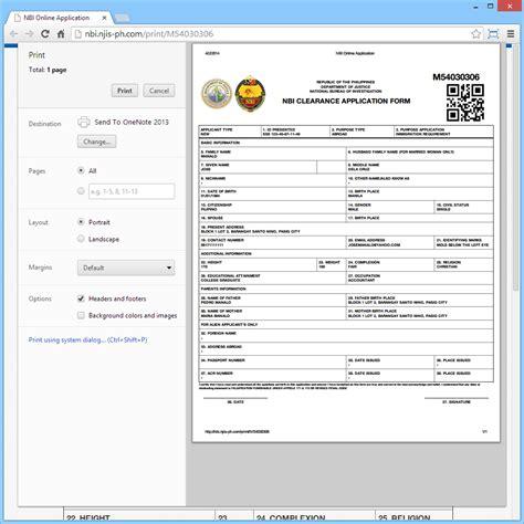 authorization letter for nbi application nbi authorization letter sle