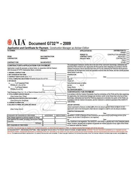 Download Aia G704 Style Certificate Of Substantial Completion Form Gantt Chart Excel Template Aia G704 Template