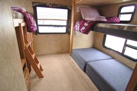 couch cers rvs with bunk beds rv cers with bunk beds quotes design