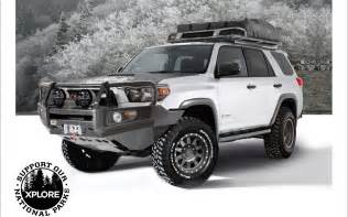 Road Bumpers For Toyota 4runners Xplore Vehicles Debuts Upgrade Kits For Toyota 4runner
