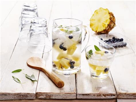 Pineapple Blueberry Detox Water by 38 Detox Waters To Cleanse Your And Mind