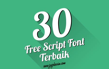 font desain grafis download kumpulan 30 font script terbaik 2015 untuk