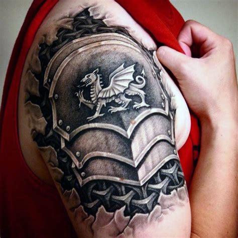 quarter sleeve dragon tattoo 70 quarter sleeve tattoo designs for men masculine ink ideas