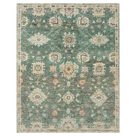 12x15 rugs nana bazaar traditional aqua knotted jute rug 12x15 kathy kuo home