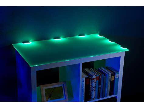 schrankbeleuchtung fernbedienung lunartec schrankbeleuchtung led glasbodenbeleuchtung mit