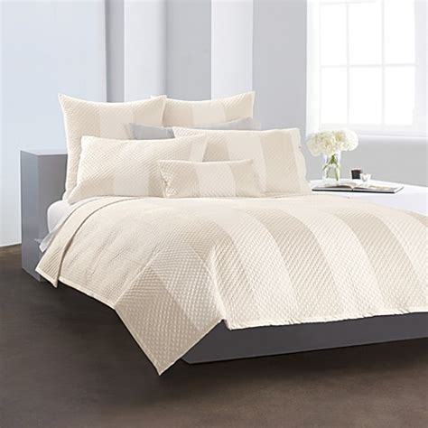dkny coverlets quilts dkny harmony quilt ivory bed bath beyond