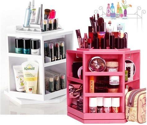 Lipstick Shelf by Beaubar 360 Rotating Cosmetic Organizer Shelf Makeup