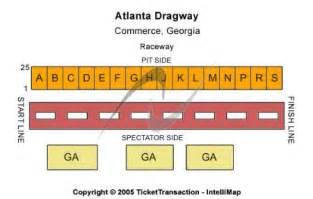 motorplex seating map atlanta dragway tickets in commerce atlanta