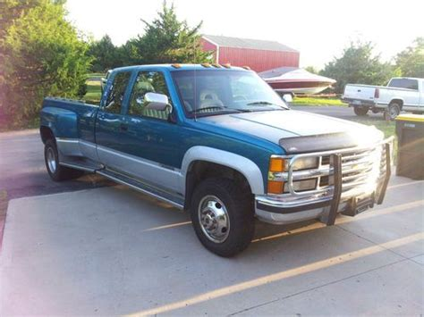 1994 chevrolet c k 3500 extended cab 4x4 dually interior find used 1994 chevy silverado k3500 4x4 dually in shawnee kansas united states