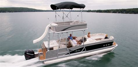 luxury pontoon boats with slide 13 best images about luxury pontoon boats on pinterest