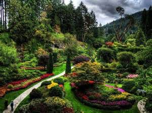 butchart gardens vancouver island oh canada