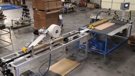 Paper Corrugated Box Machinery - tri hex 174 corrugated paper pallet runner machinery