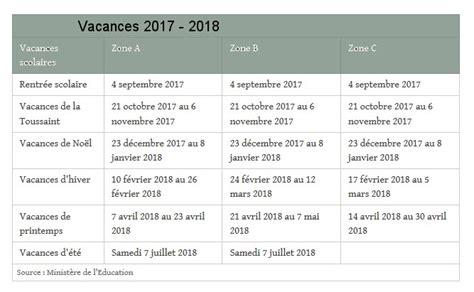 Vacances Scolaires 2018 Toulouse Dates Des Vacances Scolaires En Zone Par Zone