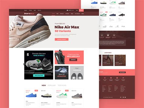 Landing Page Ecommerce Template Ecommerce Landing Page Epicpxls