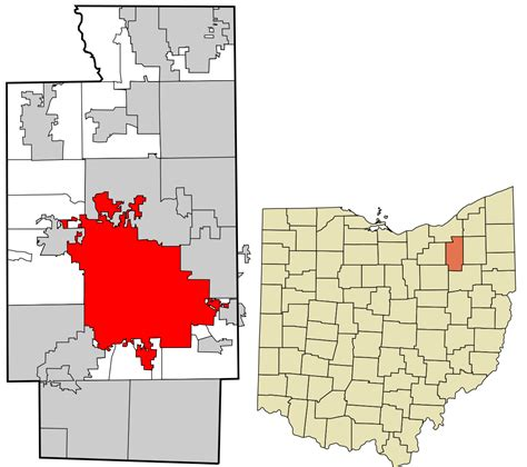 Records Summit County File Summit County Ohio Incorporated And Unincorporated Areas Akron Highlighted Svg