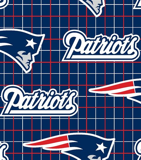 New Trends In Home Decor new england patriots nfl flannel fabric jo ann