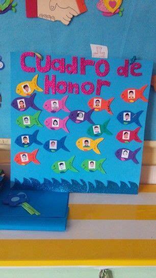 cuadro de honor cuadro de honor preescolar pinterest