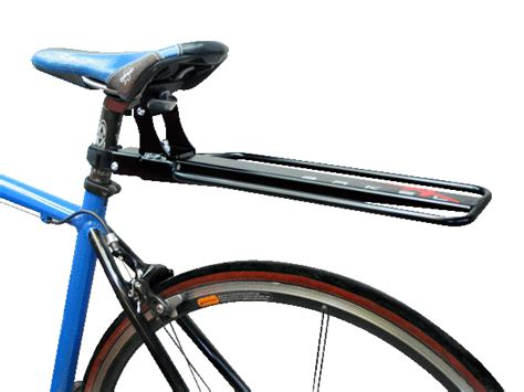 what rear pannier rack for a frame with no eyelets discs