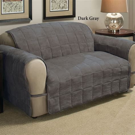 loveseat pet protector grey sofa cover grey melange sofa cover slipcovers cotton