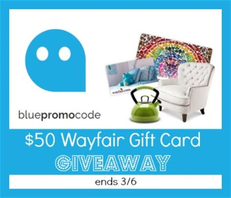 Wayfair Gift Card Discount - savings with bluepromocode com coupons
