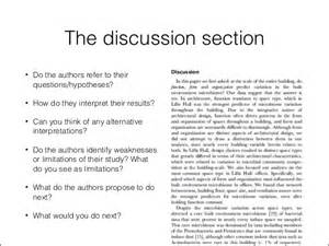 How To Write Discussion Scientific Paper Writing A Discussion Section Of A Scientific Research