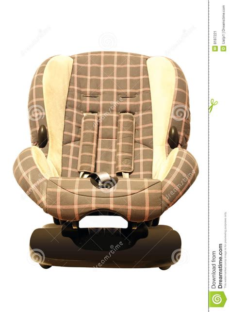 child car armchair stock image image 8187221