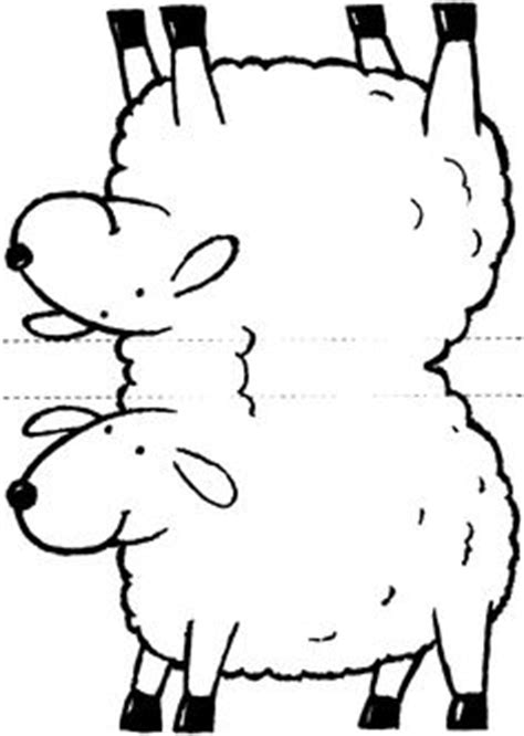 cranky bear coloring pages printable lamb free template paper kids craft