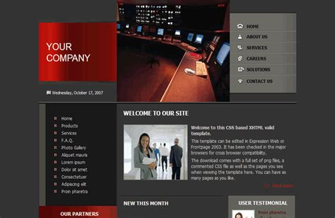 The Template Store Expression Web Css Virtual Pack 4 Expression Web 4 Responsive Templates