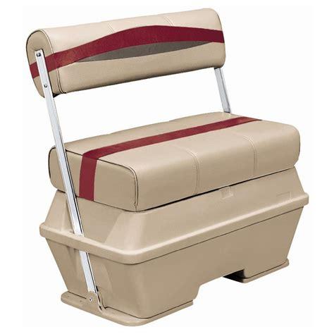 wise cooler seat installation wise premier 50 quart cooler flip flop pontoon seat