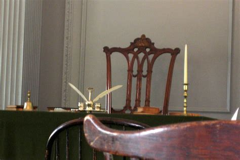 Rising Sun Chair by Philadelphia City Independence Assembly Room