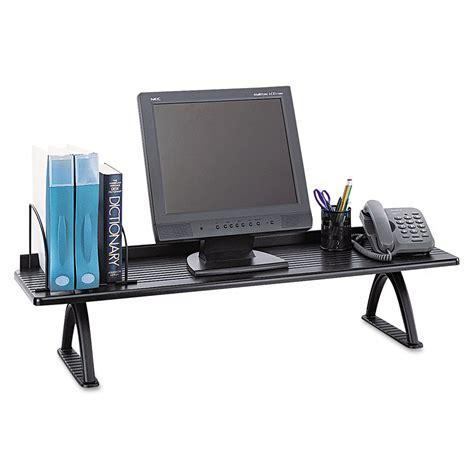 Desktop Shelf Risers By Safco 174 Ontimesupplies Com Office Desk Risers