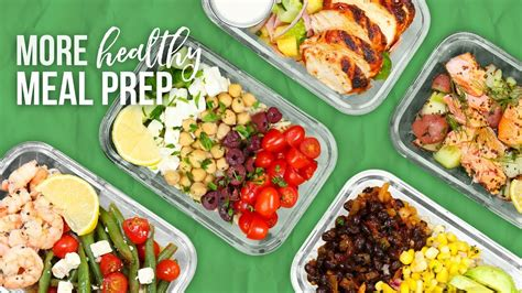 new year food preparation 5 more healthy meal prep ideas new year 2018