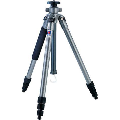 Tripod Stand 4 Section Aluminum Legs With Brace Silverblack benro a 158n6 aluminum tripod legs 451 158 b h photo