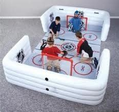 Knee Hockey Mat by Hockey Minis And Dads On