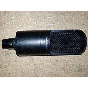 condenser microphone for guitar used audio technica at2020 condenser microphone guitar center