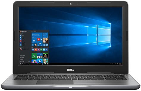dell inspiron  grey laptop computer  gry